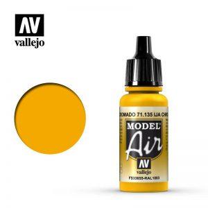 Vallejo   Model Air Model Air: IJA Chrome Yellow - VAL135 - 8429551711357