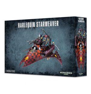 Games Workshop Warhammer 40,000  Harlequins Harlequin Voidweaver / Starweaver - 99120111003 - 5011921057177