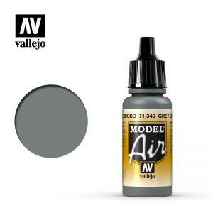 Vallejo   Model Air Model Air: Grey Green - VAL71340 - 8429551713405