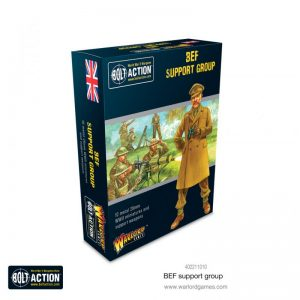 Warlord Games Bolt Action  Great Britain (BA) British Expeditionary Force Support Group - 402211010 - 5060572503274