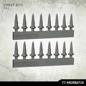 Kromlech   Heretic Legionary Conversion Parts Spikey Bits Set 4 (16) - KRVB070 - 5902216118430