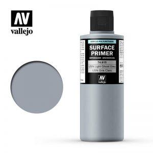Vallejo   Model Air Primers AV Polyurethane - Primer USN Light Ghost Grey FS36375 200ml - VAL74615 - 8429551746151