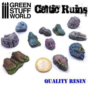 Green Stuff World   Green Stuff World Conversion Parts Celtic Ruins - 8436554364626ES - 8436554364626