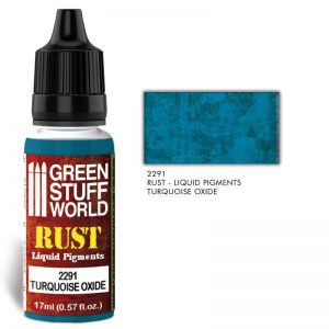Green Stuff World   Liquid Pigments Liquid Pigments TURQUOISE OXIDE - 8436574506501ES - 8436574506501