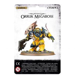 Games Workshop (Direct) Age of Sigmar  Orruk Warclans Orruk Megaboss - 99070209003 - 5011921070251