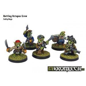 Kromlech   Orc Model Kits Goblin Pirates Salty Dogs - KRM065 - 5902216112247