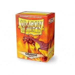 Dragon Shield   Dragon Shield Dragon Shield Sleeves Matte Orange (100) - DS100MO - 5706569111137