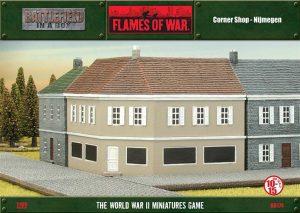 Gale Force Nine   Battlefield in a Box Flames of War: Corner Shop (Nijmegen) - BB174 - 9420020224414
