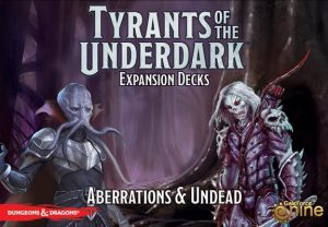 Gale Force Nine Dungeons & Dragons  D&D Miniatures Tyrants of the Underdark: Aberrations & Undead - GFN74003 - 9781945625008