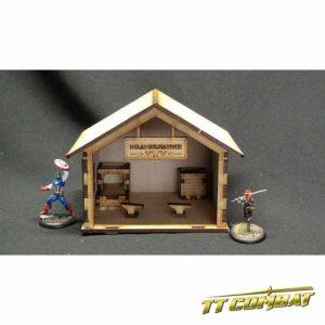 TTCombat   Wild West Scenics (28-32mm) Blacksmith - WWS030 - 5060504042598