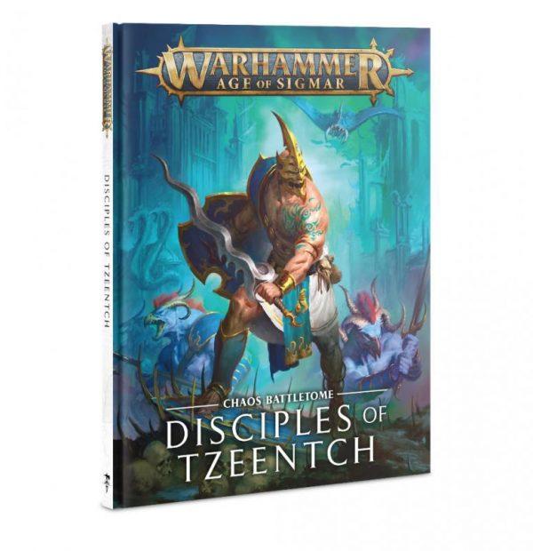 Games Workshop Age of Sigmar  Disciples of Tzeentch Battletome: Disciples of Tzeentch - 60030201023 - 9781788269070