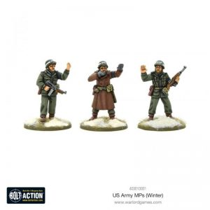 Warlord Games Bolt Action  United States of America (BA) US Army MPs (Winter) - 403013001 - 5060572500488