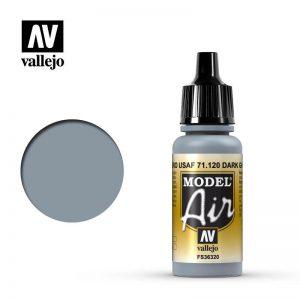 Vallejo   Model Air Model Air: Dark Ghost Grey - VAL120 - 8429551711203