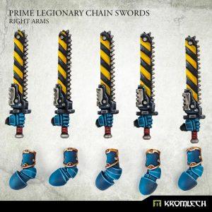 Kromlech   Legionary Conversion Parts Prime Legionaries CCW Arms: Chain Swords (right arms) - KRCB267 - 5908291070892