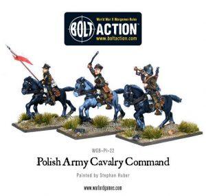 Warlord Games Bolt Action  Poland (BA) Polish Army Cavalry Command - WGB-PI-22 - 5060200849583