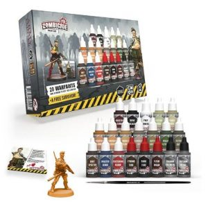 The Army Painter Zombicide  Zombicide Zombicide 2nd Edition Paint Set - APWP8042 - 5713799804203
