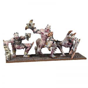Mantic Kings of War  Abyssal Dwarves Abyssal Dwarf Grotesques Regiment - MGKWK402 - 5060469665221