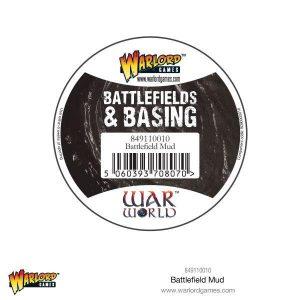 Warlord Games   Render Warlord Scenics: Battlefield Mud - 849110010 - 5060393708070