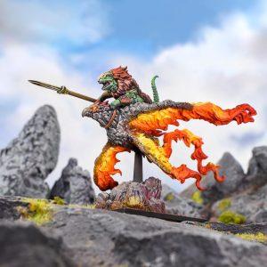 Mantic Kings of War  Salamanders (KoW) Ghekkotah Skylord - MGKWS203 - 5060469667133