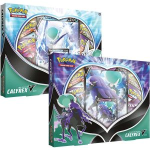 Pokemon Pokemon - Trading Card Game  Pokemon Pokemon TCG: August V Box - Ice Rider/ Shadow Rider Calyrex - POK80900 - 820650809002