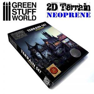 Green Stuff World   Green Stuff World Terrain 2D Neoprene Terrain set - 22 pieces - 8436554369508ES - 8436554369508