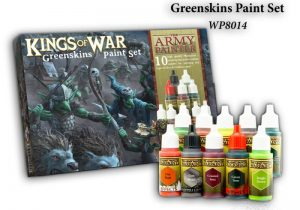 The Army Painter   Paint Sets Warpaints Kings of War Greenskins - APWP8014 - 2580140111777