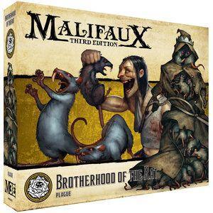 Wyrd Malifaux  Outcasts Brotherhood of the Rat - WYR23521 - 812152032057