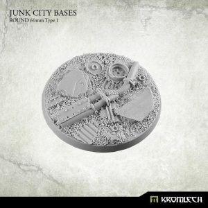 Kromlech   Junk City Bases Junk City round 60mm (1) - KRRB042 -