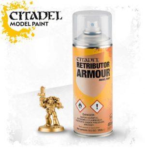 Games Workshop   Spray Paint GW Spray: Retributor Armour - 99209999071 - 5011921154531