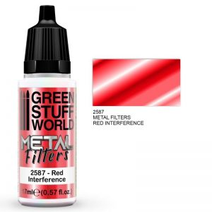Green Stuff World   Metal Filters Metal Filters - Red Interference - 8436574509465ES - 8436574509465