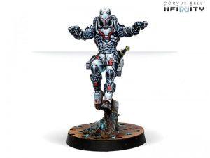 Corvus Belli Infinity  Nomads Perseus, Rogue Myrmidon (Two Pistols) - 281501-0767 - 2815010007677