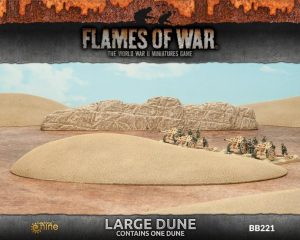 Gale Force Nine   Battlefield in a Box Flames of War: Large Dune - BB221 - 9420020235700