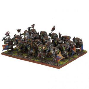Mantic Kings of War  Orcs Orc Ax Regiment - MGKWO201 - 5060469662329