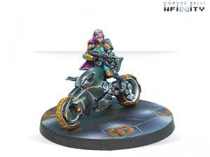 Corvus Belli Infinity  Non-Aligned Armies - NA2 Authorized Bounty Hunter (Boarding Shotgun, Booty L2: Bike) - 280717-0525 - 2807170005259