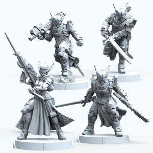 Corvus Belli Infinity  PanOceania PanOceania Teutonic Knights - 281221-0878 - 2812210008787