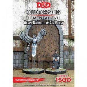 Gale Force Nine Dungeons & Dragons  D&D Miniatures D&D: Aerisi Kalinoth & Air Priest - GFN71043 - 9420020227026