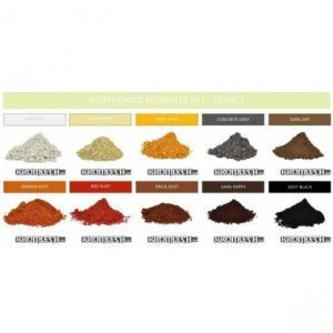 Kromlech   Weathering Powders Weathering Powder Set - Series 1 - KRMA017 - 5902216112209