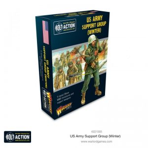 Warlord Games Bolt Action  United States of America (BA) US Army Support Group (Winter) - 402213005 - 5060572504851