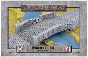 Gale Force Nine   Battlefield in a Box Wartorn Village - Ruined Bridge - BB593 - 9420020247840