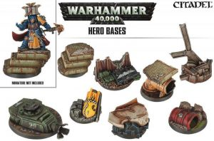 Games Workshop   Games Workshop Bases Warhammer 40K Hero Basing - 99120199046 - 5011921079865