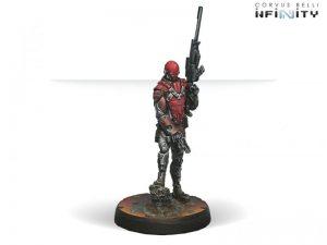 Corvus Belli Infinity  Nomads Intruder, Corregidor Assault Commando (MULTI Sniper) - 280566-0445 - 2805660004454