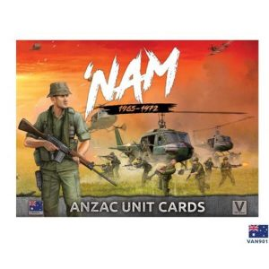 Battlefront Flames of War  SALE! Vietnam: ANZAC Unit Card Pack - VAN901 - 9420020237223