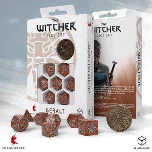 Q-Workshop   The Witcher Dice The Witcher Dice Set:Geralt - The Monster Slayer - SWGE3U - 5907699496099