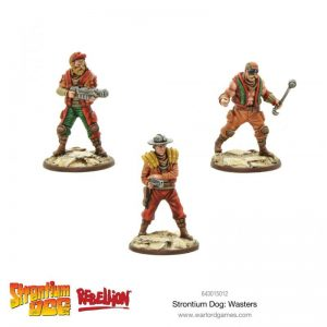 Warlord Games Strontium Dog  Strontium Dog Strontium Dog: Wasters - 643015012 - 5060572500853