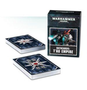 Games Workshop Warhammer 40,000  T'au Empire Datacards: T'au Empire - 60220113003 - 5011921098415