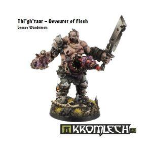 Kromlech   Heretic Legionary Model Kits Thi'gh'taar - Devourer of Flesh, Contagion Spreader - KRM019 - 5902216111448