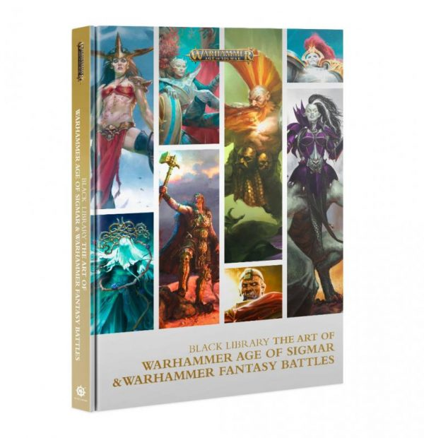 Games Workshop   Age of Sigmar Essentials The Art of Warhammer Age of Sigmar and Warhammer Fantasy Battles - 60040281278 - 9781789999570