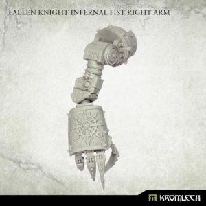Kromlech   Heretic Legionary Conversion Parts Fallen Knight Infernal Fist Arm [right] (1) - KRVB100 - 5902216119901