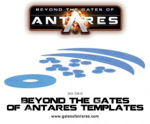 Warlord Games Beyond the Gates of Antares  SALE! Beyond the Gates of Antares Templates - WGA-TEM-01 - 5060393702672