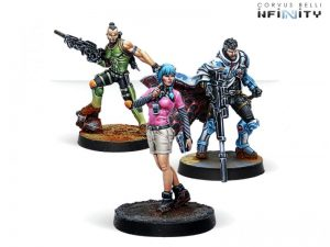 Corvus Belli Infinity  Non-Aligned Armies - NA2 Dire Foes Mission Pack 8: Nocturne - 280025-0773 - 2800250007730